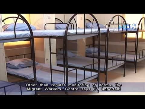 Foreign workers' dormitories could be accredited - 17Dec2012
