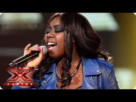 Hannah Barrett sings What's Love Got To Do With It - Live Week 1 - The X Factor 2013