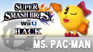 [SSBWii U Hack] Ms. Pac-Man