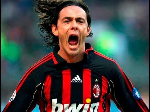 Filippo Inzaghi - All Goals for AC Milan!