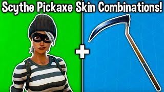 5 BEST 'SCYTHE PICKAXE' SKIN COMBINATIONS! (Reaper Harvesting Tool)