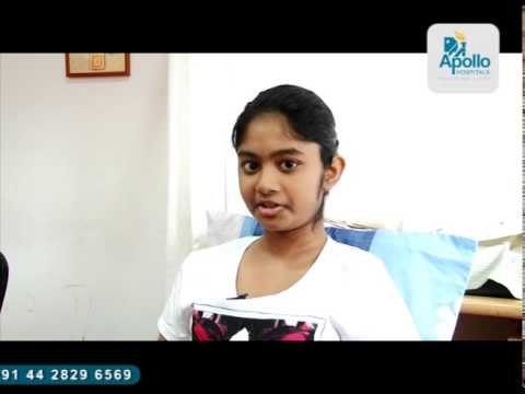 Vishmi From Sri Lanka ​- Treated At Apollo Hospitals,chennai By Dr.sajan Hegde,spine Surgery video