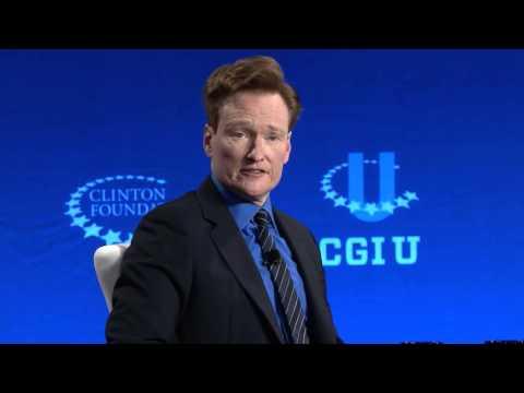 Closing Plenary - Panel with President Bill Clinton, Chelsea Clinton, and Conan O'Brien - CGI U 2016