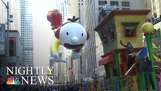 America Kicks Off The Holiday Season | NBC Nightly News