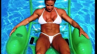 Wonder Woman Theresa Ivancik FBB In Mike's Smashed Apple Ale Commercial
