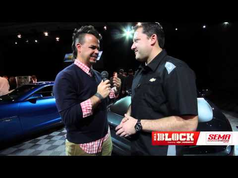 Tony Stewart Camaro ZL1 Concept -- SEMA 2012