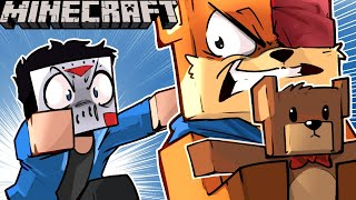 SQUIRREL KIDNAPPED TEDDY BEAR?!!!.... ON MINECRAFT! - (Teddy Bear Revenge) Ep. 22!