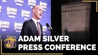 NBA All-Stars 2018: NBA Commissioner Adam Silver Press Conference