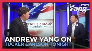 Andrew Yang Discusses Job Automation on Tucker Carlson Tonight