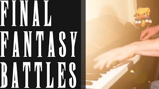 FINAL FANTASY Battle Themes Piano Medley (I, II, III, IV, V, VI, VII, VIII, IX, X)