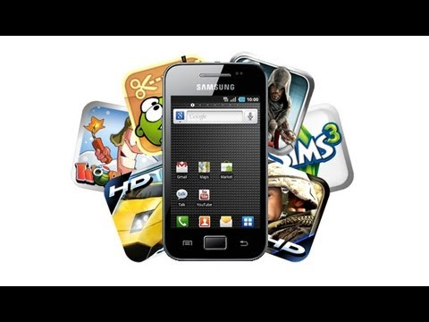 Juegos Para Samsung Galaxy Ace (ARMV6) | How To Make & Do Everything!