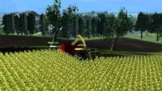 Landwirtschafts, Simulator, 2011, (Arbeiten, auf, der, W.I.P, HOMFELD