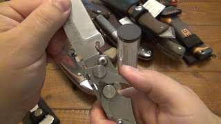 French Steampunk Knife? Plus A Bunch Of Other Older Knives!!!