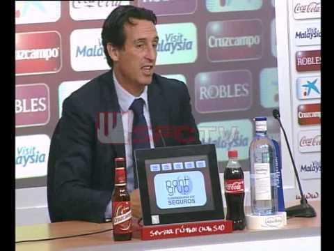 Rueda de prensa Unai Emery post partido Sevilla FC 1-1 Valencia CF