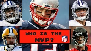 Who Should Win The 2016 NFL MVP?   NFL MVP Race Predictions