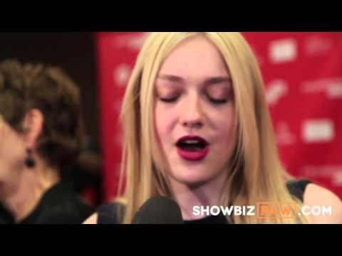 Raw: Dakota Fanning star of VERY GOOD GIRLS speaks with Sundance reporters