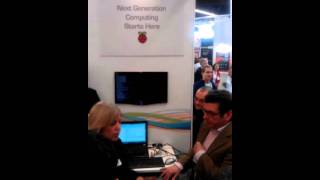 Raspberry Pi official launch at Embedded World 2012