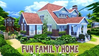 Fun Family Home || The Sims 4: Speed Build