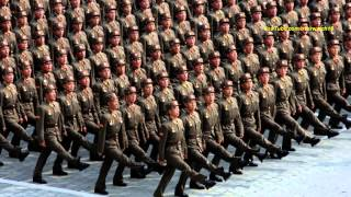 North Korean Song: Forward, Steel-like Division