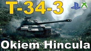 T-34-3 Okiem Hincula World of Tanks Xbox One/Ps4