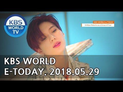 KBS WORLD e-TODAY [ENG/2018.05.29]