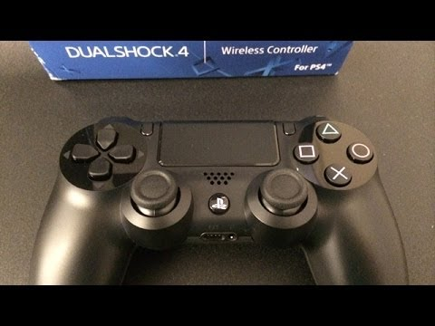 PS4 Controller Unboxing and Review!! (How To Get One. PS3 vs PS4. Dualshock 4 Impressions)