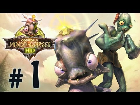 Oddworld: Munch's Oddysee HD PS3 [Playthrough] - Part 1
