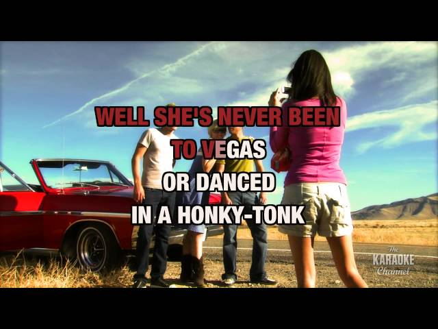 """Good Little Girls in the Style of """"Blue County"""" with lyrics (with lead vocal)"""