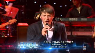 Reed Grim, Elise Testone, Eben Franckewitz, Haley the Night has a Thousand Eyes American Idol HD