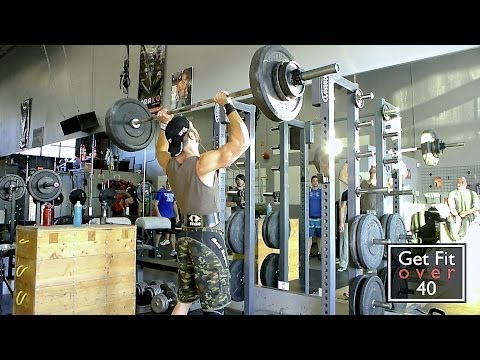 CrossFit Langley - Max Shoulder Press Workout Image 1