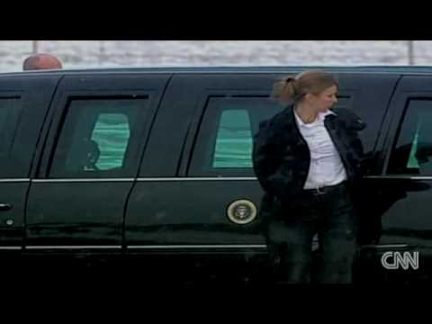 President Barack Obama arrives in Copenhagen Denmark