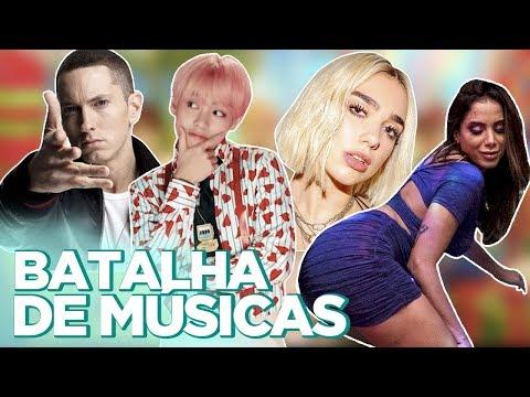 BTS + NICKI MINAJ, DUA LIPA LOIRA, ANITTA DE HONÓRIO GURGEL, EMINEM HOMOFÓBICO? ft. MAICON  Foquinha