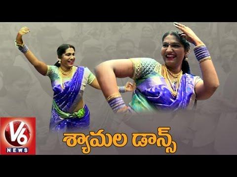 Jogini Shyamala Teenmaar Dance At Lashkar Bonalu   Secunderabad   V6 News