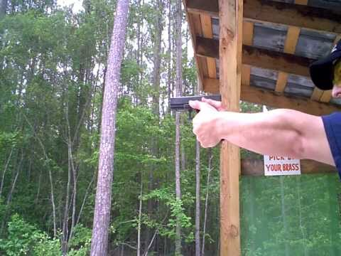 Glock 21 SF: Firing and Simple Review