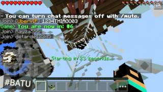 """SESSİZ""Minecraft Pe:Sky wars #4"
