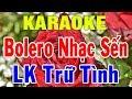 karaoke Nhạc Sống Trữ Tình Bolero Hòa Tấu | Liên Khúc Rumba Nhạc Sến | Trọng Hiếu thumbnail