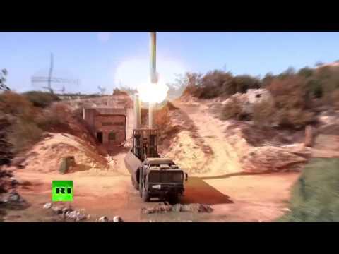Береговой ракетный комплекс «Бастион» в действии: удар по позициям террористов в Сирии