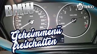 BMW Geheim Menü im Boardcomputer - BMW F Modell Geheimmenü