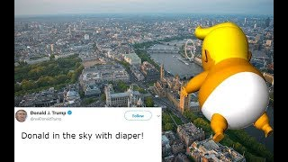 The Tweetles - Donald in the Sky with Diaper (Trump Baby blimp song)