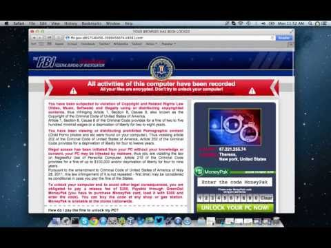 FBI Ransomware On The Mac