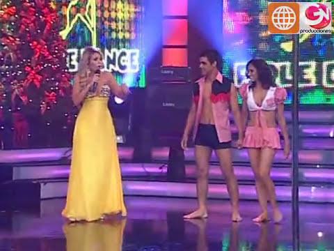 Pole Dance: Maricielo Effio y Charles Ramírez (El Show de los Sueños: Reyes del Show 19-12-09)