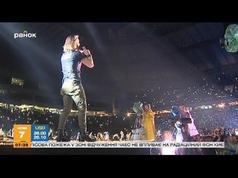 Олег Винник: как прошёл самый масштабный концерт в карьере певца