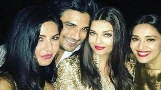 Katrina Kaif Bonds With Aishwarya Rai At Manish Malhotra Birthday Party 2016