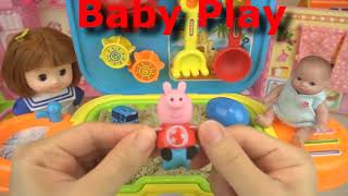 Baby doll sand and flower pot car play baby Doli2