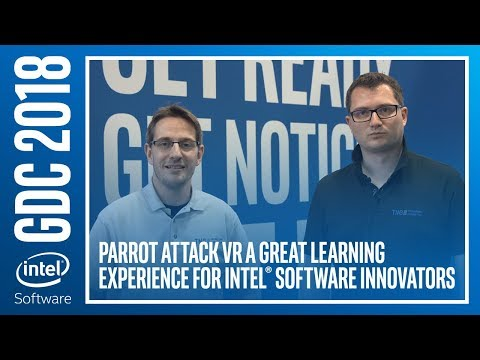 Parrot Attack VR a Great Learning Experience for Intel® Software Innovators | Intel Software