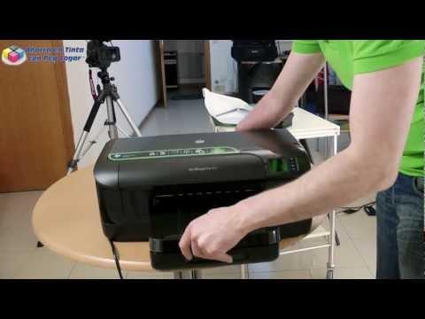 Hp Officejet Pro 8100 primer contacto. instalación y puesta en marcha