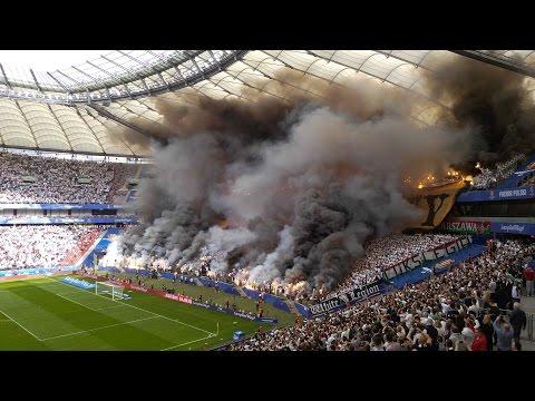 LECH 0:1 LEGIA  - oprawy - Finał Pucharu Polski 2016