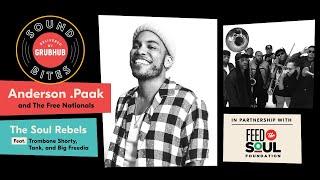 Download lagu Grubhub Sound Bites: Anderson .Paak + The Free Nationals
