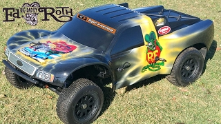 RAT FINK PAINT! -HPI BAJA 5SC REBUILD SERIES- Part 5