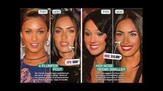 The many faces of Megan Fox